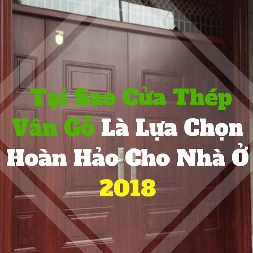 [ Cửa Thép Vân Gỗ ] Tại Sao Cửa Thép Vân Gỗ Là Lựa Chọn Hoàn Hảo Cho Nhà Ở 2018