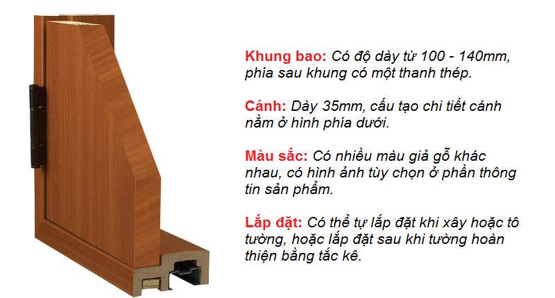 [Báo Giá] 75+ Cửa Nhựa Giả Gỗ ABS Hàn Quốc 2.969.000/Bộ Phòng Ngủ 2019