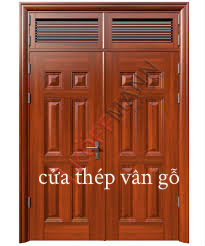 Cửa Thép Vân Gỗ - Cửa Chống Cháy Cao Cấp #1 Việt Nam