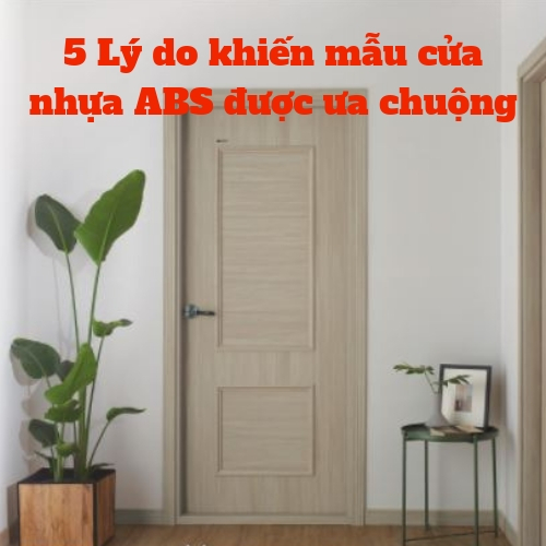 mẫu cửa nhựa ABS