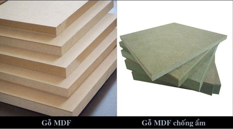 Gỗ công nghiệp cao cấp MDF