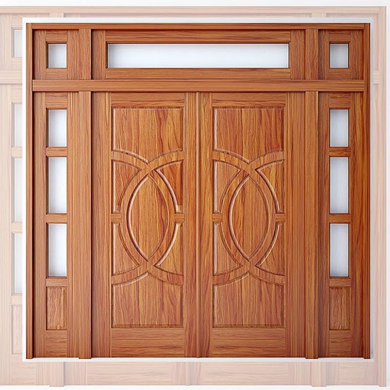 Chất liệu làm cửa gỗ hiện đại:
