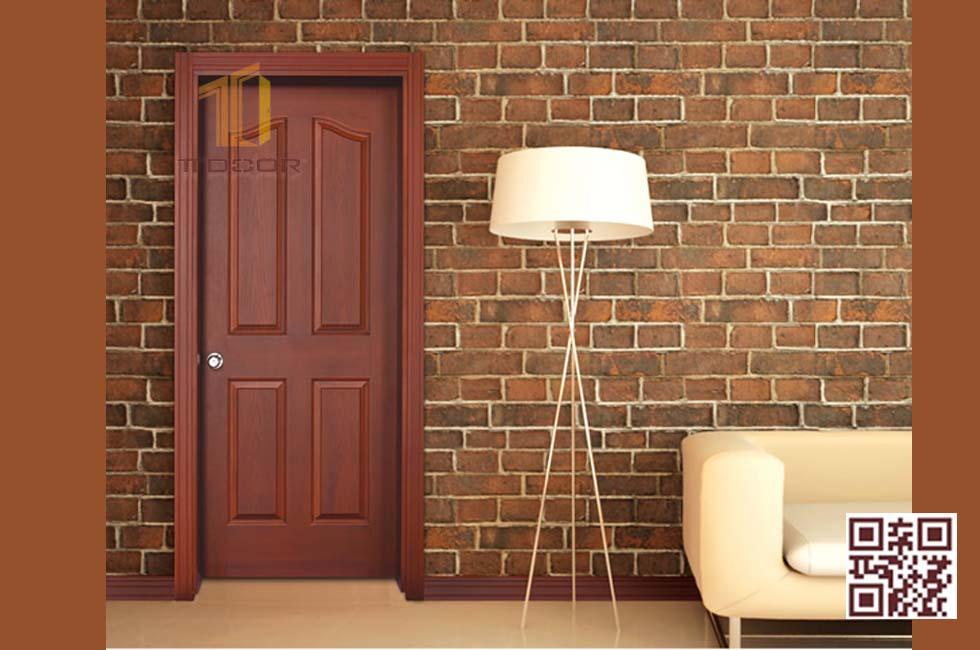 Màu cửa gỗ công nghiệp HDf Veneer