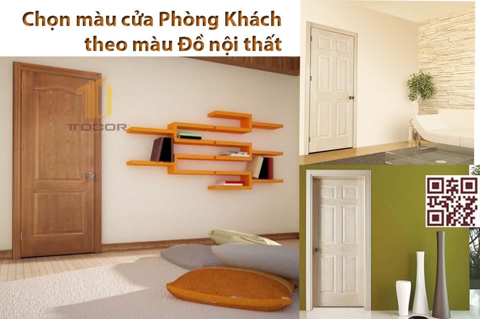 Màu cửa và màu đồ nội thất