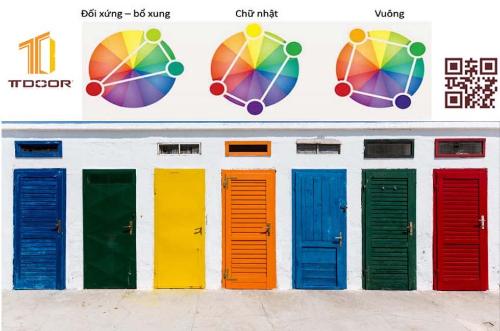 màu sắc cũng là một nhược điểm của cửa gỗ công nghiệp