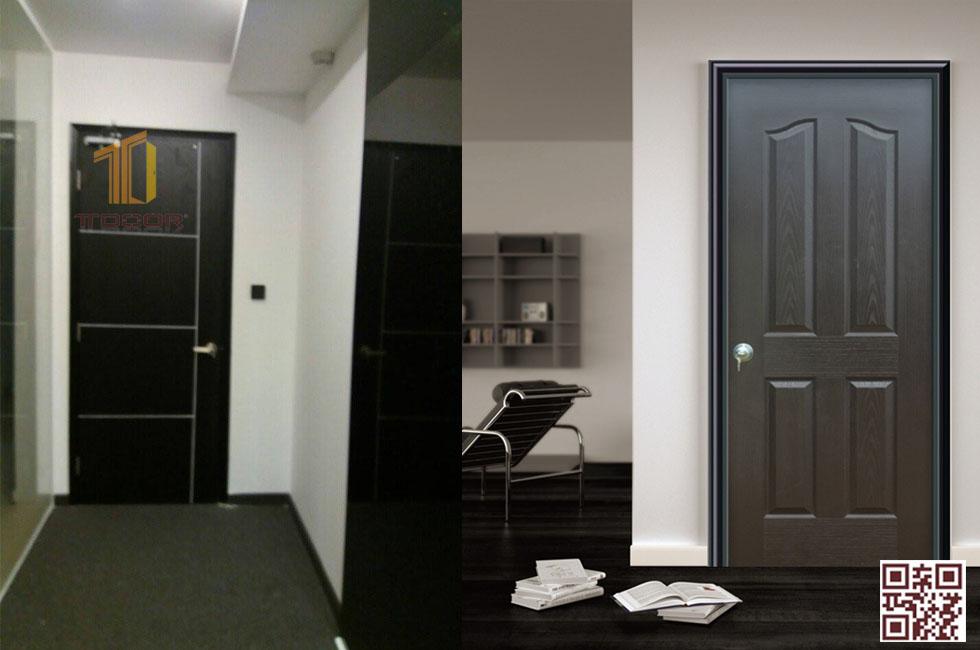 màu sắc cửa gỗ HDF